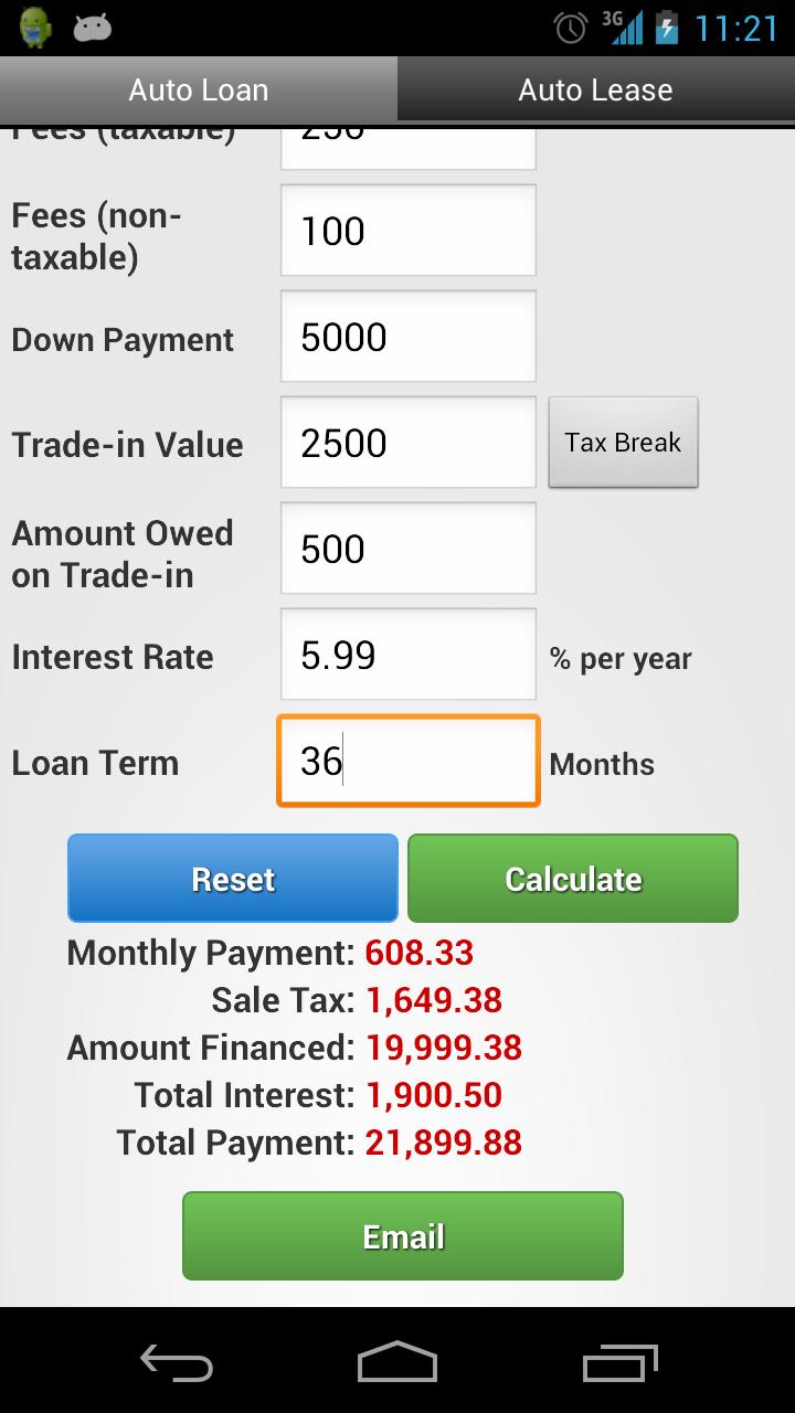 Car loan calculator comparison rate 16